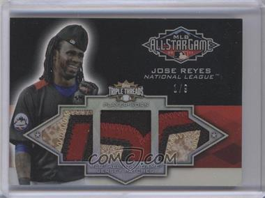 2012 Topps Triple Threads All-Star Game Patch Relics #TTASP-62 - Jose Reyes /9