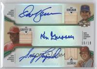 Dave Kingman, Ken Griffey, Greg Luzinski /18