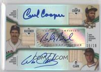 Cecil Cooper, Bill Buckner, Will Clark /18