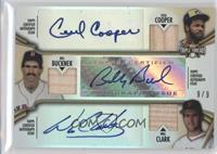 Cecil Cooper, Bill Buckner, Will Clark /9