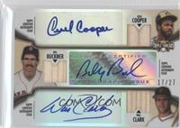 Will Clark, Cecil Cooper, Bill Buckner /27