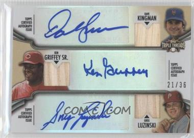 2012 Topps Triple Threads Combos Autographed Relics #TTARC-3 - [Missing] /36