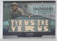 Ty Cobb /36