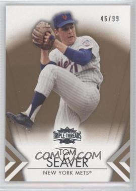 2012 Topps Triple Threads Gold #44 - Tom Seaver /99