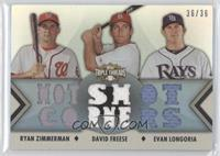 Ryan Zimmerman, David Freese, Evan Longoria /36