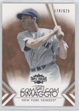 2012 Topps Triple Threads Sepia #30 - Joe DiMaggio /625