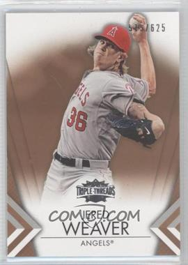 2012 Topps Triple Threads Sepia #72 - Jered Weaver /625