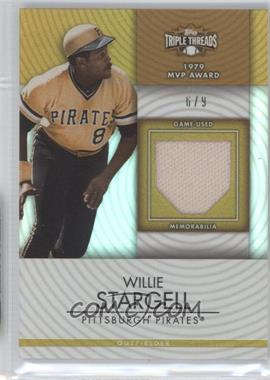 2012 Topps Triple Threads Unity Relics Gold #TTUR-82 - Willie Stargell /9
