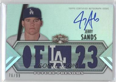 2012 Topps Triple Threads #140 - Jerry Sands /99