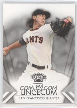 2012 Topps Triple Threads #26 - Tim Lincecum