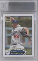 Chad Billingsley /1 [BGS AUTHENTIC]