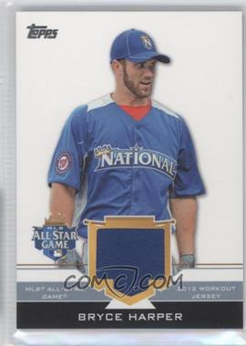 2012 Topps Update Series - All-Star Stitches #AS-BH - Bryce Harper
