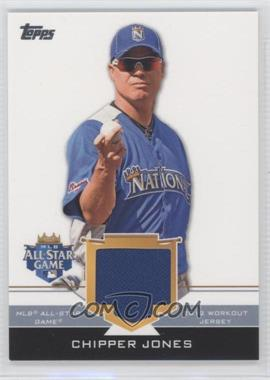 2012 Topps Update Series - All-Star Stitches #AS-CJ - Chipper Jones