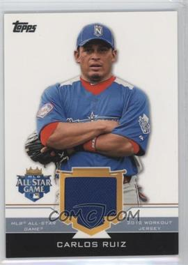 2012 Topps Update Series - All-Star Stitches #AS-CR - Carlos Ruiz