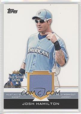 2012 Topps Update Series - All-Star Stitches #AS-JHM - Josh Hamilton