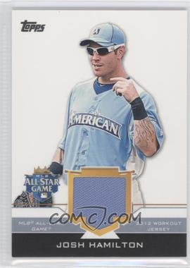2012 Topps Update Series - All-Star Stitches #AS-JHM - Josh Hamilton
