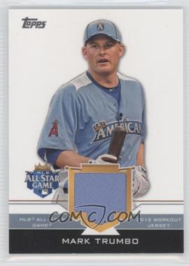 2012 Topps Update Series - All-Star Stitches #AS-MAT - Mark Trumbo