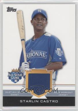 2012 Topps Update Series - All-Star Stitches #AS-SC - Starlin Castro