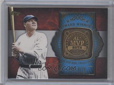 2012 Topps Update Series - Award Winners Golden Ring Collection #GAR-BR - Babe Ruth