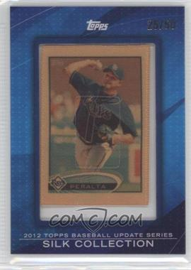 2012 Topps Update Series - [Base] - Framed Silk Collection #JOPE - Joel Peralta /50