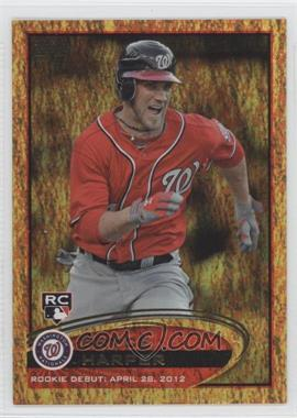 2012 Topps Update Series - [Base] - Golden Moments #US183 - Bryce Harper
