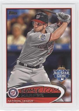 2012 Topps Update Series - [Base] #US299.1 - Bryce Harper (Batting)