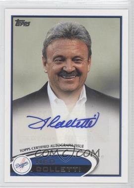 2012 Topps Update Series - General Manager Autographs #AGM-NC - Ned Colletti