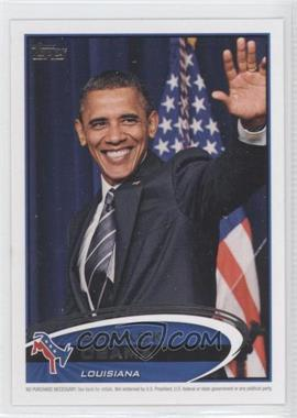 2012 Topps Update Series - Presidential Predictor Barack Obama #PPO-18 - Barack Obama