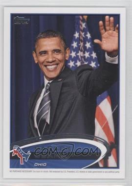 2012 Topps Update Series - Presidential Predictor Barack Obama #PPO-35 - Barack Obama