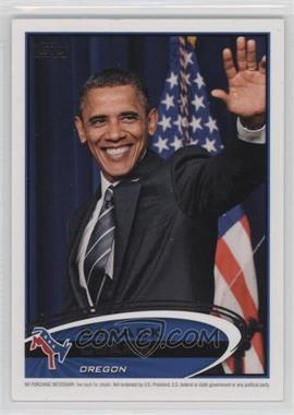 2012 Topps Update Series - Presidential Predictor Barack Obama #PPO-37 - Barack Obama