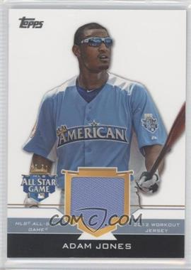 2012 Topps Update Series All-Star Stitches #AS-AJ - Adam Jones