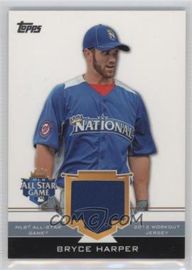 2012 Topps Update Series All-Star Stitches #AS-BH - Bryce Harper