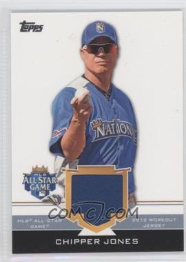 2012 Topps Update Series All-Star Stitches #AS-CJ - Chipper Jones
