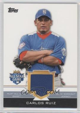 2012 Topps Update Series All-Star Stitches #AS-CR - Carlos Ruiz