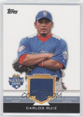 2012 Topps Update Series All-Star Stitches #AS-CR - Carlos Ruiz