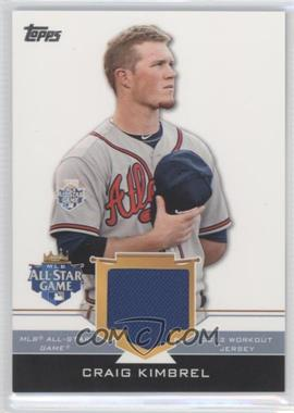 2012 Topps Update Series All-Star Stitches #AS-CRK - Craig Kimbrel