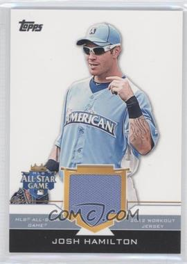 2012 Topps Update Series All-Star Stitches #AS-JHM - Josh Hamilton