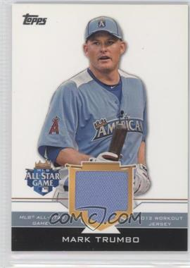 2012 Topps Update Series All-Star Stitches #AS-MAT - Mark Trumbo