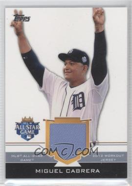 2012 Topps Update Series All-Star Stitches #AS-MIC - Miguel Cabrera