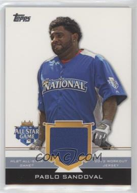 2012 Topps Update Series All-Star Stitches #AS-PS - Pablo Sandoval