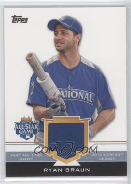 2012 Topps Update Series All-Star Stitches #AS-RB - Ryan Braun