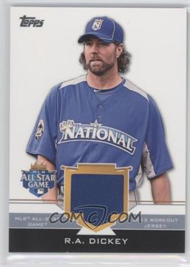 2012 Topps Update Series All-Star Stitches #AS-RD - R.A. Dickey