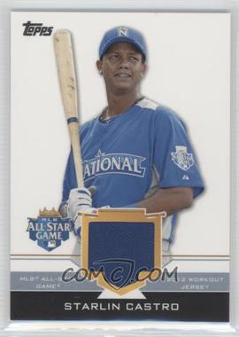 2012 Topps Update Series All-Star Stitches #AS-SC - Starlin Castro