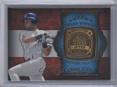 2012 Topps Update Series Award Winners Golden Ring Collection #GAR-DJ - Derek Jeter