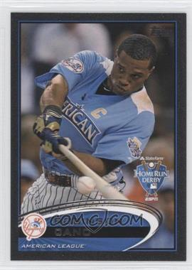 2012 Topps Update Series Black #US110 - Robinson Cano /61