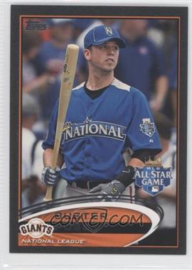 2012 Topps Update Series Black #US21 - Buster Posey /61
