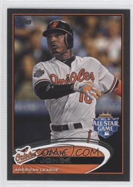 2012 Topps Update Series Black #US32 - Adam Jones /61