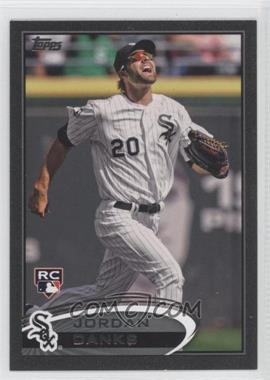 2012 Topps Update Series Black #US322 - Jordan Danks /61
