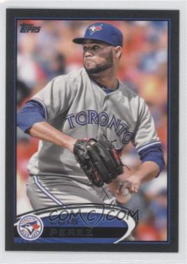 2012 Topps Update Series Black #US8 - Luis Perez /61