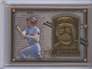 2012 Topps Update Series Commemorative Gold Hall of Fame Plaques #HOF-MS - Mike Schmidt